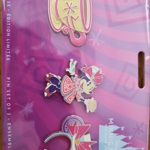 Main Attraction Minnie Tea Party Pins